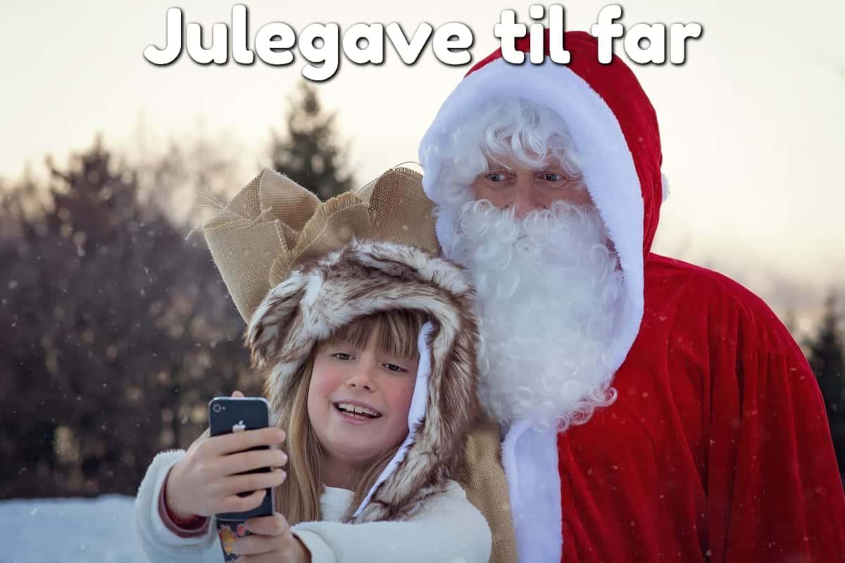 Julegave til far